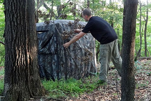 a ground hunting blinds blind from deer