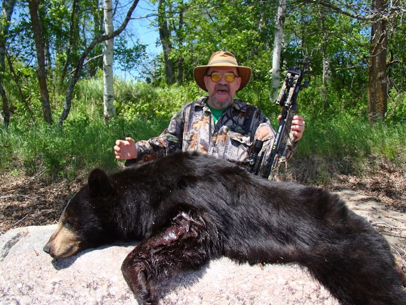 Ground Blinds Crossbows Black Bears Bowhunting